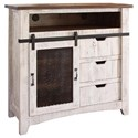 International Furniture Direct Pueblo TV Stand - Item Number: IFD360CHEST-TV