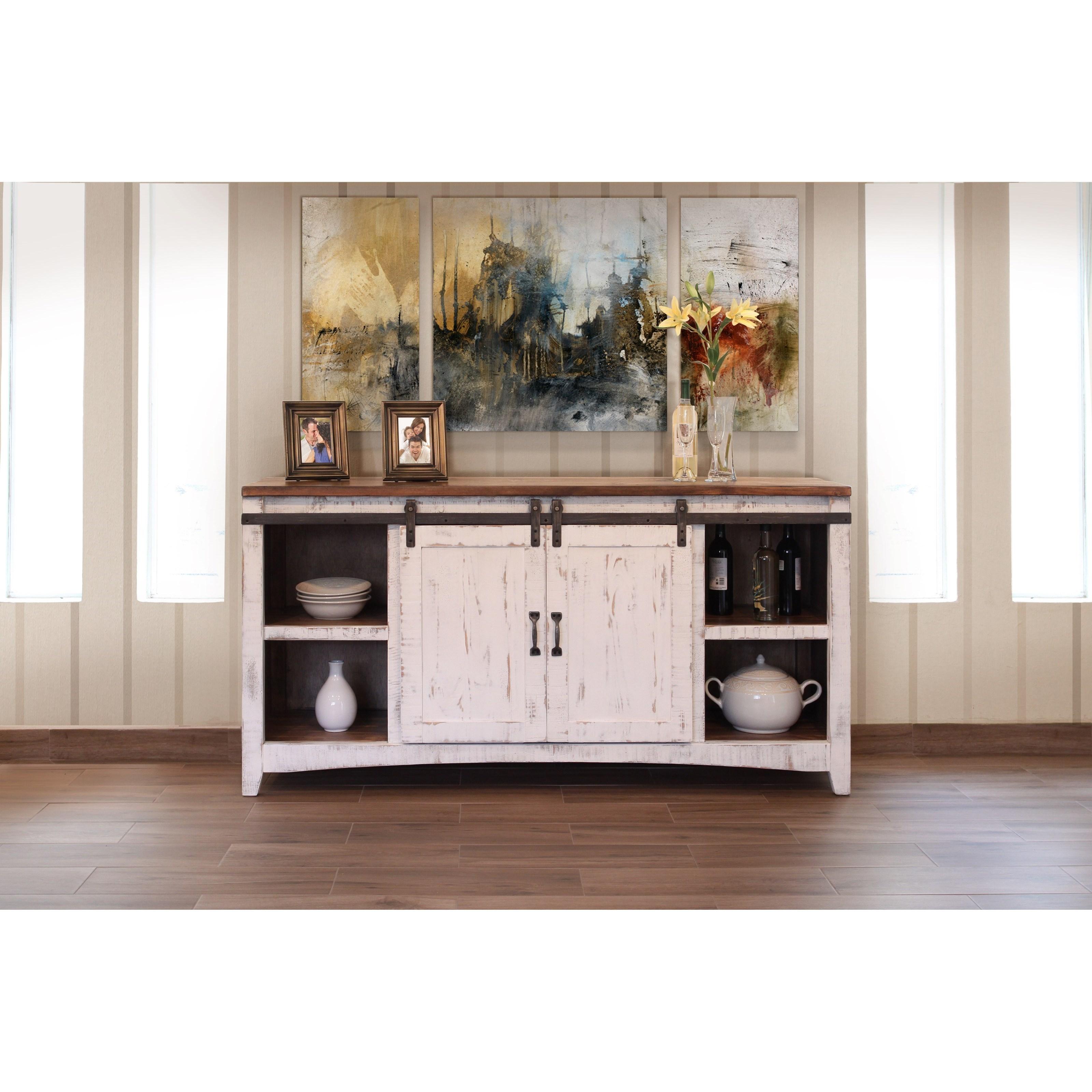 International Furniture Direct Pueblo IFD360CONS Console