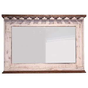 International Furniture Direct Pueblo Mirror Bar