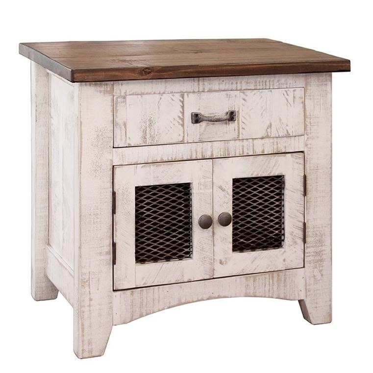 Pueblo Nightstand by IF at Lindy's Furniture Company