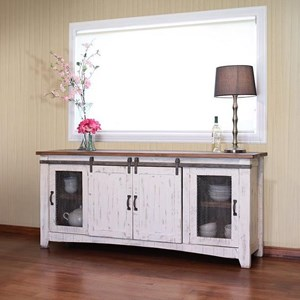 "International Furniture Direct Pueblo 80"" TV Stand"