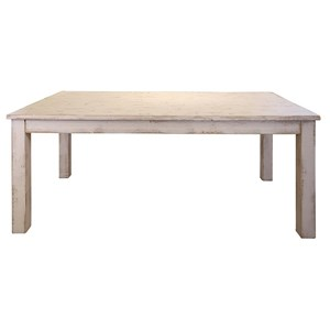 International Furniture Direct Pueblo Wood Dining Table