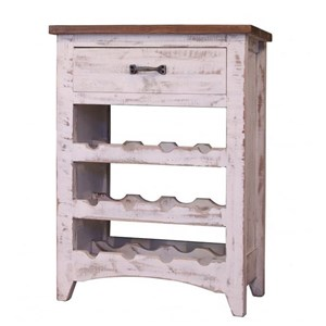International Furniture Direct Pueblo Wine Rack