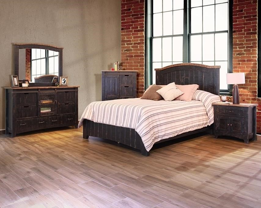 Artisan Home Pueblo Cal King Bedroom Group - Item Number: IFD370 CK Bedroom Group 1