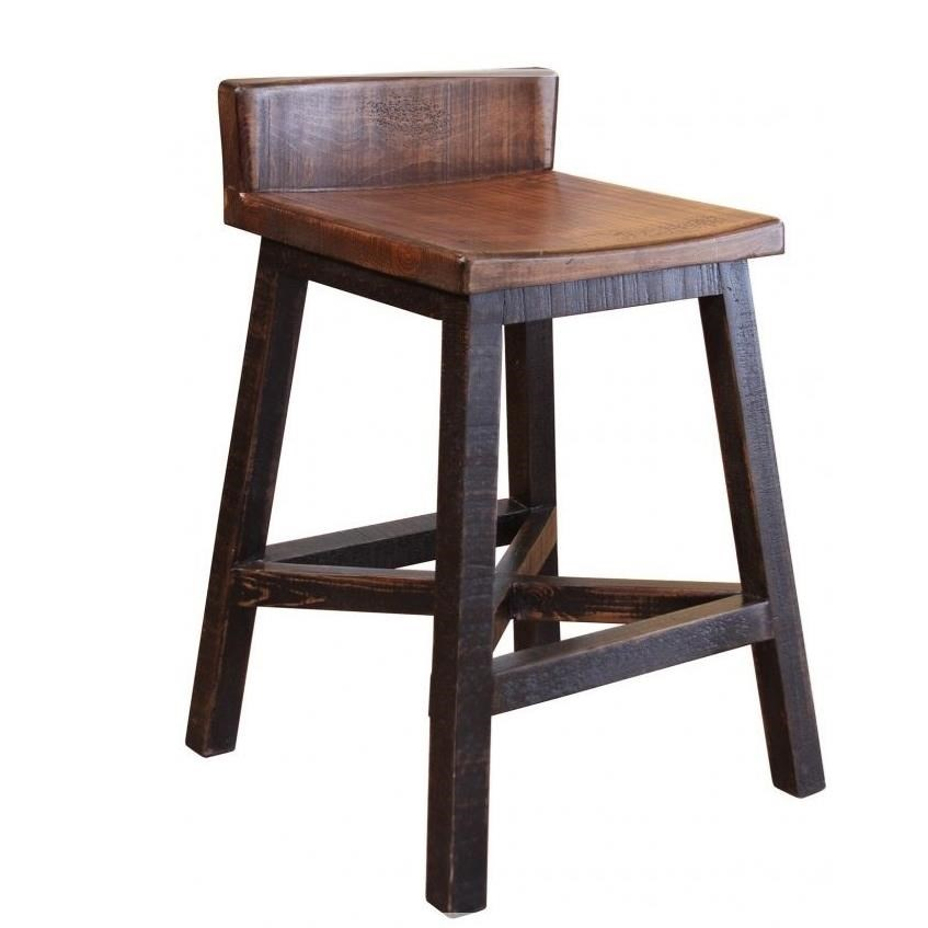Artisan Home Pueblo Counter Height Stool - Item Number: IFD370BS24