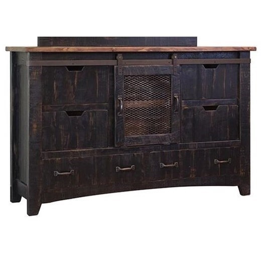 International Furniture Direct Pueblo Dresser - Item Number: IFD370DSR
