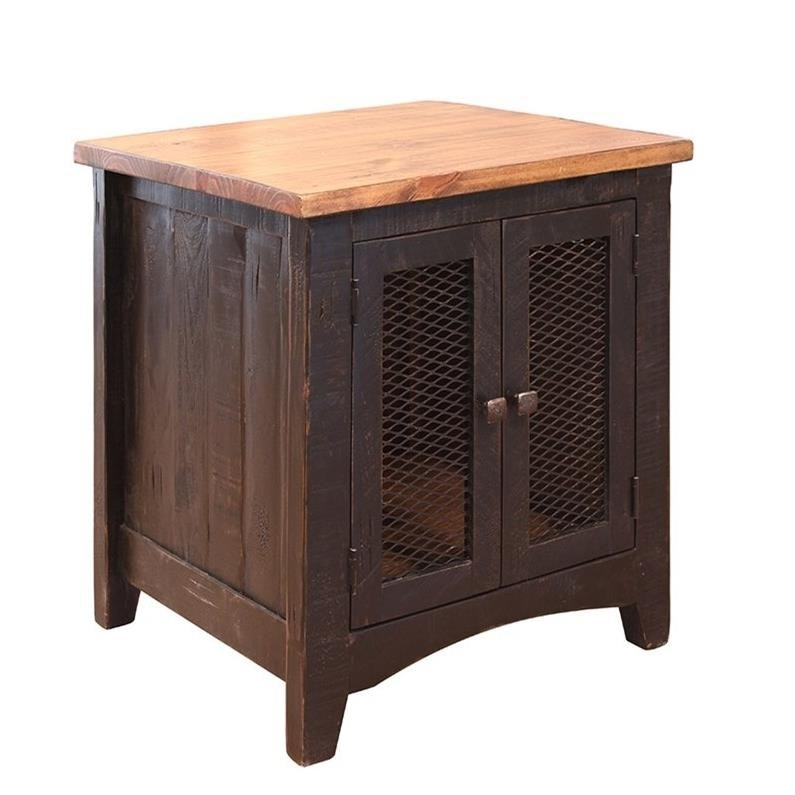 Pueblo End Table by International Furniture Direct at Factory Direct Furniture
