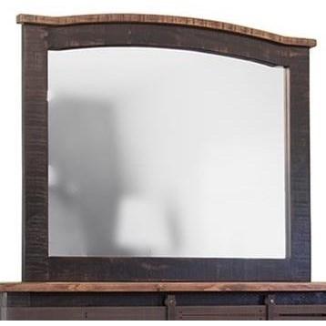 International Furniture Direct Pueblo Mirror - Item Number: IFD370MIRR