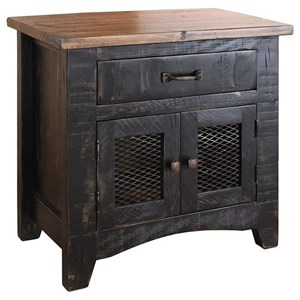 International Furniture Direct Pueblo Nightstand