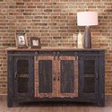 "International Furniture Direct Pueblo 60"" TV Stand - Item Number: IFD370STAND-60"