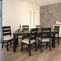 International Furniture Direct Pueblo Rustic Wood Dining Table