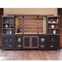 International Furniture Direct Pueblo Wall Unit - Item Number: IFD370WALLUNIT