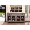 "International Furniture Direct San Angelo 71"" Console - Item Number: 295338048"
