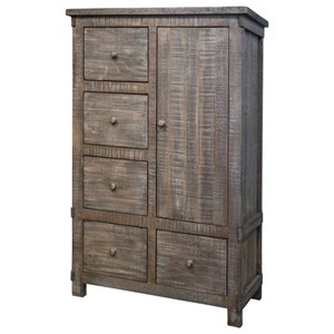 5 Drawer 1 Door Chest with Doors