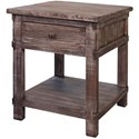 International Furniture Direct San Angelo End Table - Item Number: IFD380END