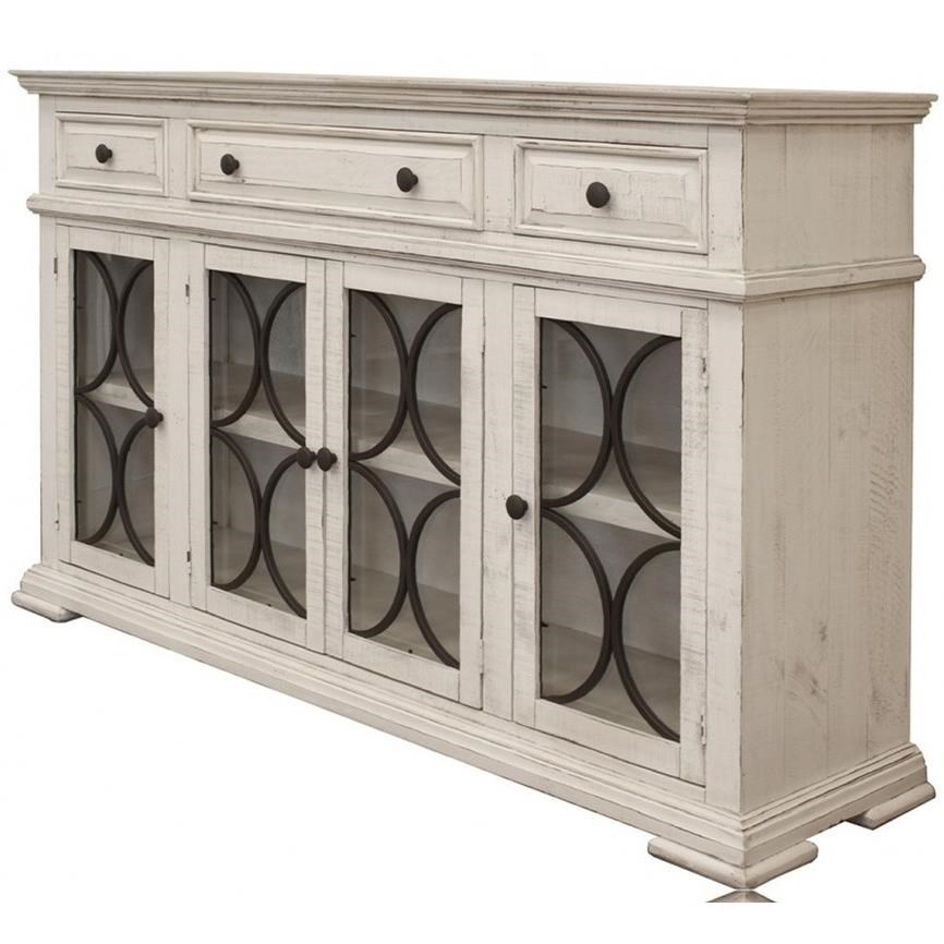Shop Furniture Direct: International Furniture Direct Bonanza Ivory IFD4150CONS 4