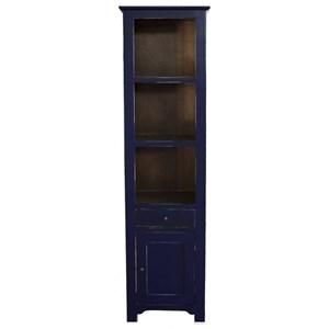 International Furniture Direct Rivera Solid Pine Bookcase