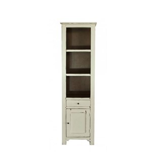 International Furniture Direct Rivera Solid Pine Bookcase