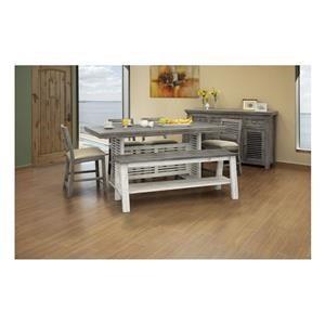 8 PC Counter Height Table Set