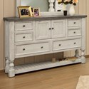 International Furniture Direct Stone Dresser - Item Number: IFD4690DSR