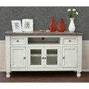 "International Furniture Direct Stone 60"" TV Stand - Item Number: IFD4692STD60"