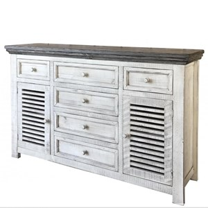 International Furniture Direct Stone Buffet