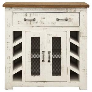 1 Drawer, 2 Door Server