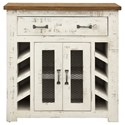 International Furniture Direct Xalapa 1 Drawer, 2 Door Server - Item Number: IFD5881SVR