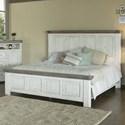 International Furniture Direct 768 Luna King Panel Bed  - Item Number: IFD768HDBD-EK+PLTFR-EK