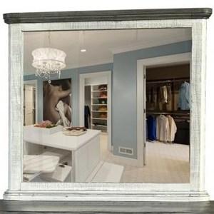 International Furniture Direct 768 Luna Mirror