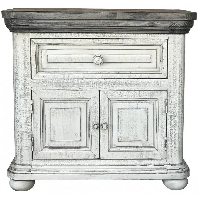768 Luna Nightstand by International Furniture Direct at Michael Alan Furniture & Design