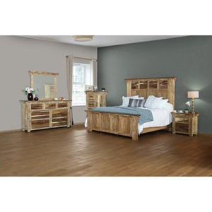 International Furniture Direct Casablanca King Bedroom Group