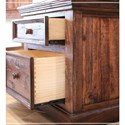 International Furniture Direct Colorado Two Drawer Nightstand