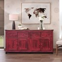 International Furniture Direct Artist Console - Item Number: IFD90CONS-R