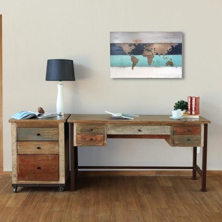 International Furniture Direct 900 Antique Ifd967desk
