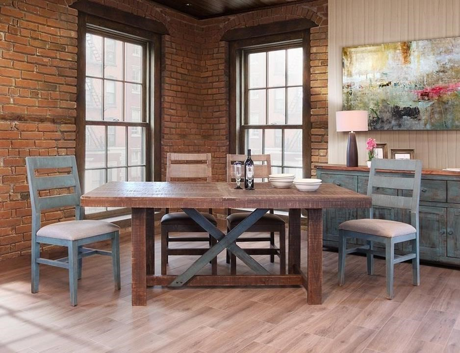 International furniture direct antique ifd chair bl
