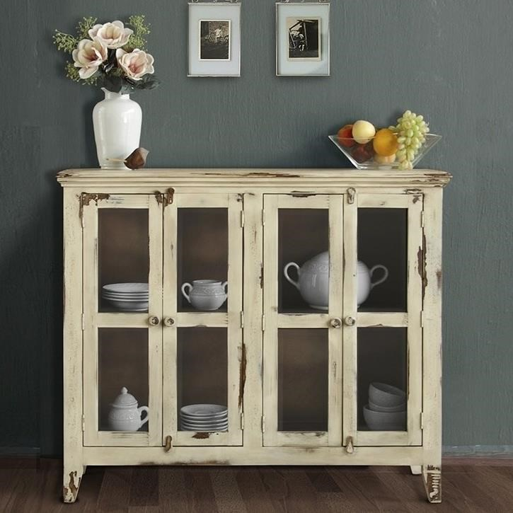 Shop Furniture Direct: International Furniture Direct Antique IFD976CONS-V Rustic