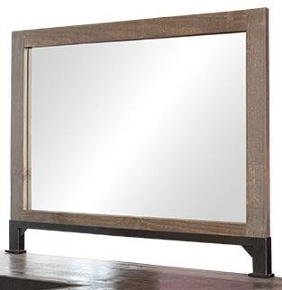 Antique Mirror by Artisan at Bennett's Furniture and Mattresses