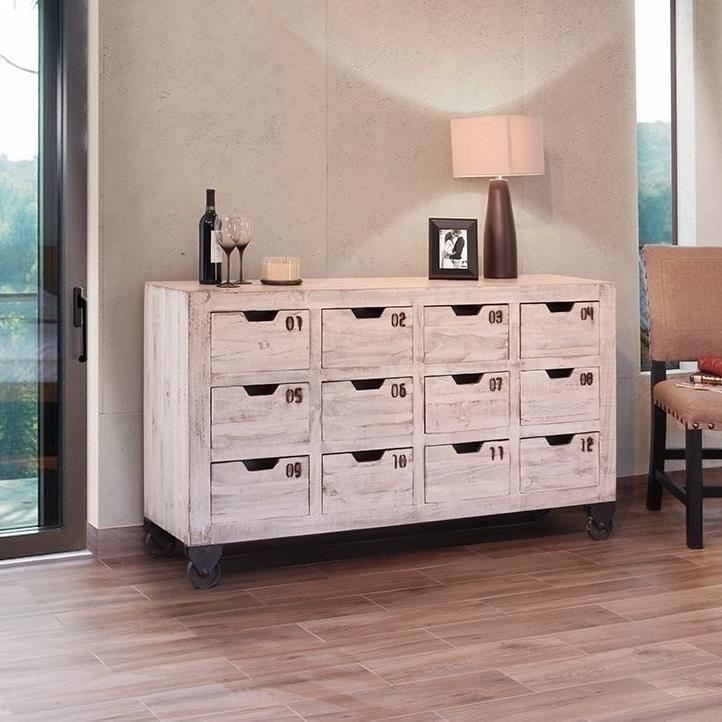 International Dining Room: International Furniture Direct 965 Rustic Dining Room