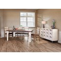 International Furniture Direct 965 Dining Room Group - Item Number: 965-W Casual Dining Room Group 1