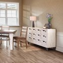 International Furniture Direct 965 Numbered Multi-Drawer Console