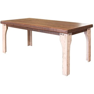International Furniture Direct 965 Wooden Dining Table