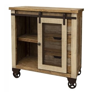 Server with 3 Drawers and 1 Door