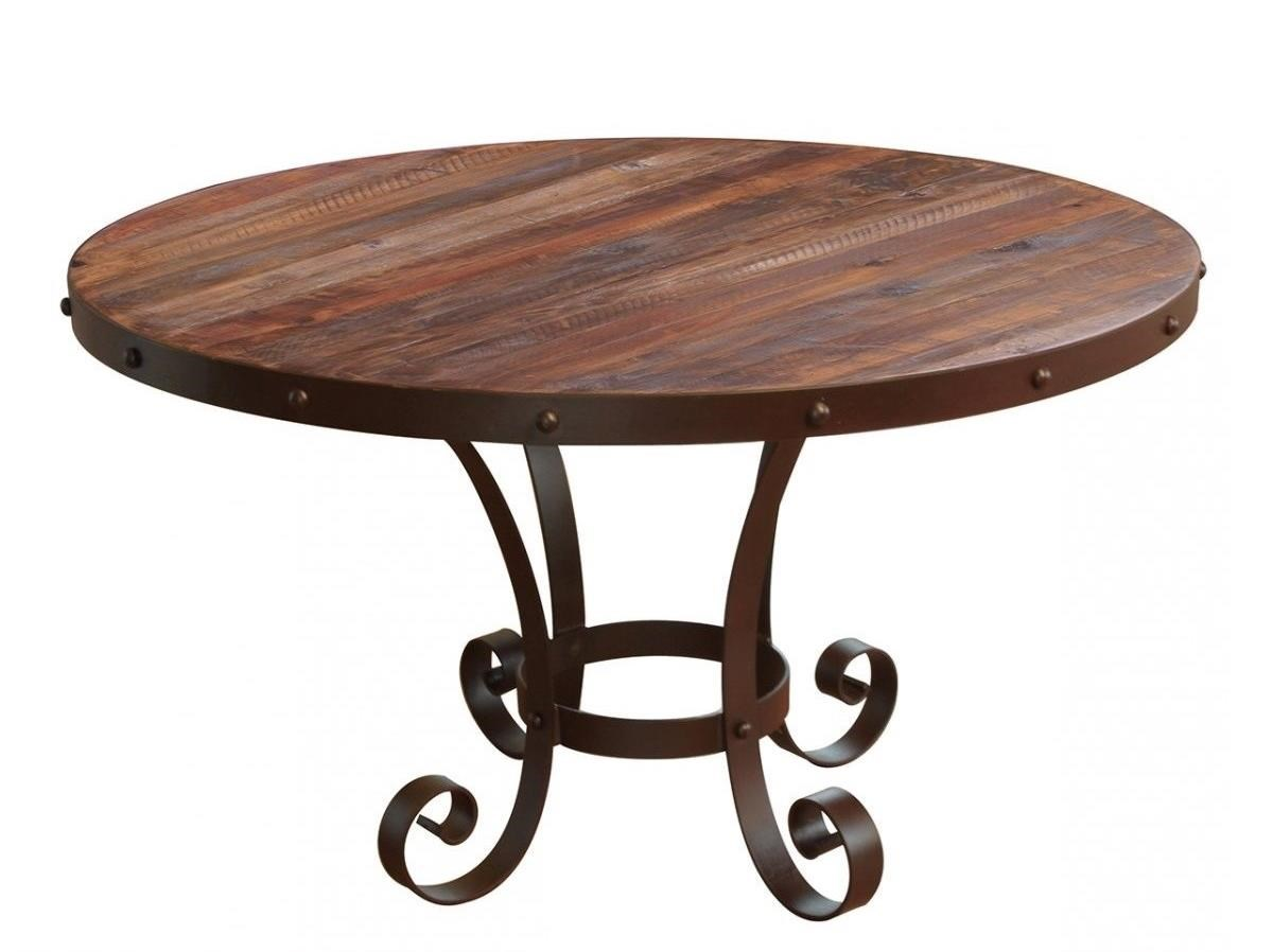 Antique Round Table by International Furniture Direct at Home Furnishings Direct
