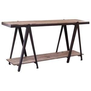 International Furniture Direct Artifact Console Table