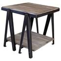 International Furniture Direct Artifact End Table - Item Number: IFD60END