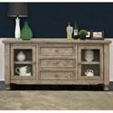 International Furniture Direct Botero Buffet - Item Number: IFD2701BFF