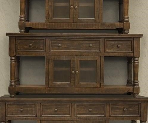 """70"""" TV Stand with 3 Drawers and 2 Doors"""