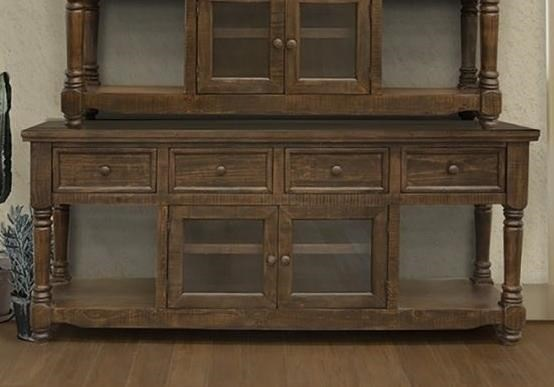 """80"""" TV Stand with 4 Drawers and 2 Doors"""