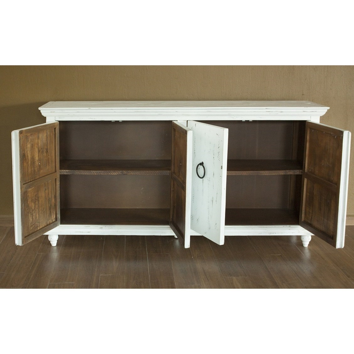Shop Furniture Direct: International Furniture Direct Capri IFD990CONS-W Ivory 4